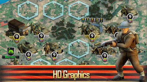 Frontline: Western Front - WW2 Strategy War Game screenshots 10