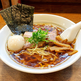 Ramen by Bill      (THECREOS) Davis - Food & Drink Plated Food ( #japanesefood, #iphone8plus, #tokyo, #iphone8, #ramen, #japanese, #soup, #noodles, #iphone, #food, #japan )