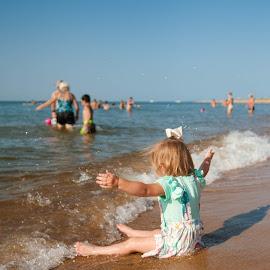 Baby on the Beach ... Almost 2 ... by Kellie Jones - Babies & Children Children Candids