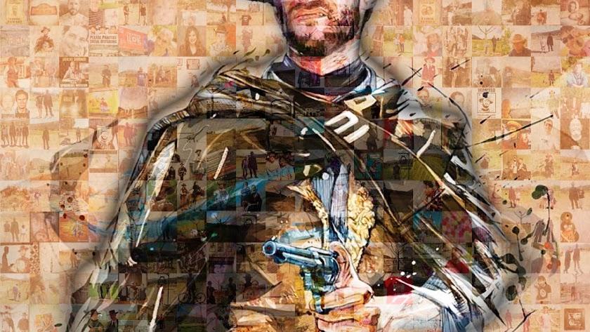 Mural formado con las más de 500 imágenes.