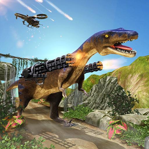 Dinosaur Shooting Games Counter Attack