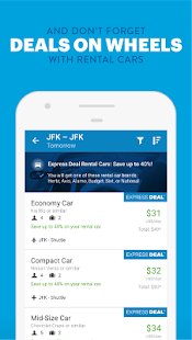 Priceline Hotel Deals, Rental Cars & Flights- screenshot thumbnail
