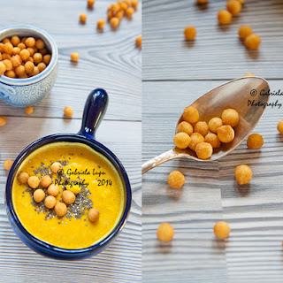 Cold Cream Red Lentils Soup With Turmeric