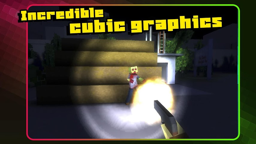 android Pixel Zombie Apocalypse Day 3D Screenshot 8