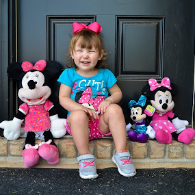 Minnie Mouse by Jessica Simmons - Babies & Children Child Portraits ( minnie mouse, children, pink, smile, portraits )