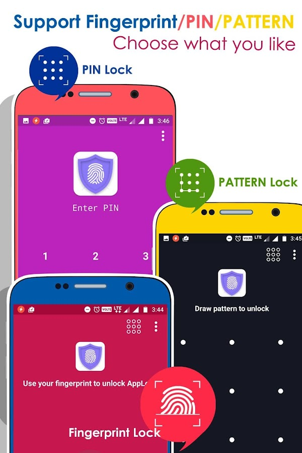 AppLock: Real Fingerprint Password Protector- screenshot