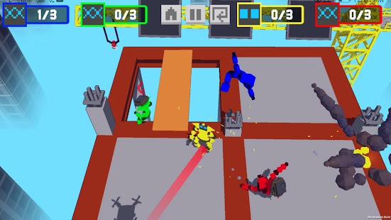 Download Robot Battle 1-4 player offline mutliplayer game For PC Windows and Mac apk screenshot 19