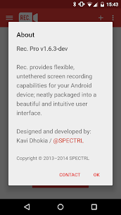 Rec. (Screen Recorder) App Download For Android 8