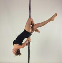 Photo: Margarita Verpopoulos - Lock Drop Back - Vertical Pole Gymnastics @ Pole Fitness Studios
