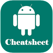 Cheatsheet For Android Studio