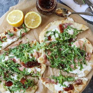 Prosciutto Burrata Pizza with Fig Jam Recipe