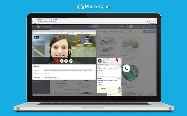 MangoApps Screen Share