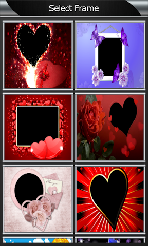 android Valentine Photo Frames Screenshot 1