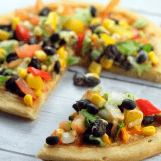 CPK inpsired Spicy Chipotle Vegetarian Pizza.