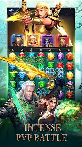 MythWars & Puzzles: RPG Match 3 screenshots 17