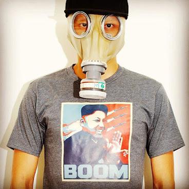 BoomKim tshirt (grey)