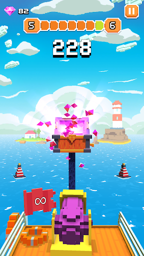 Blocky Tower - Knock Box Balls Ultimate Knock Out android2mod screenshots 8
