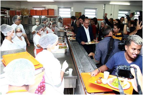 Bom Prato restaurante popular  do municiípio de Taboão da Serra
