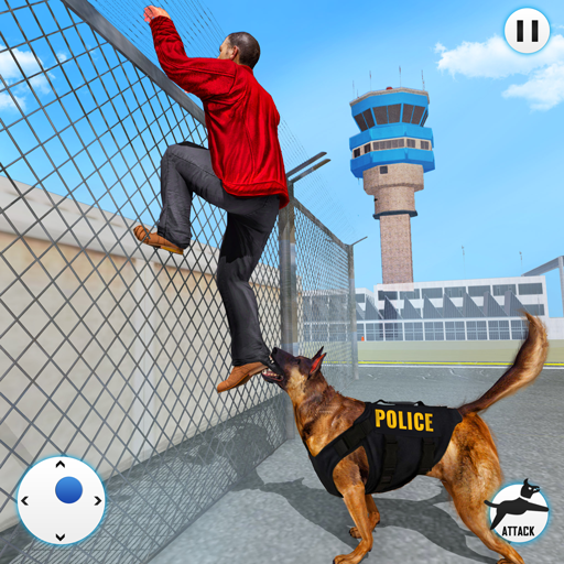 US Police Dog Simulator : Airport Crime Chase