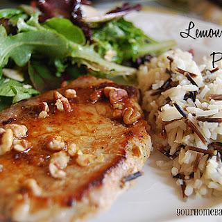 Lovely Lemons – Lemon Hazelnut Pork Chops
