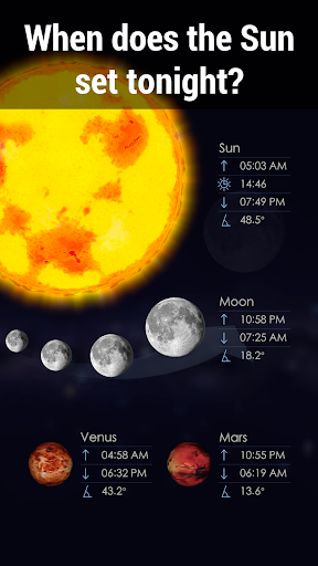 Star Walk 2 Free - Sky Map, Stars & Constellations  screenshots 5