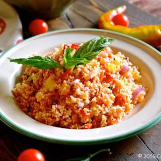 Couscous Panzanella Salad