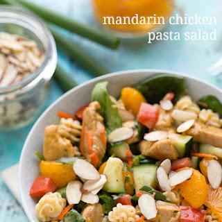 Mandarin Chicken Pasta Salad.