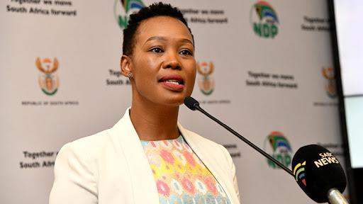 Keen mediator: Communications and digital technologies minister Stella Ndabeni-Abrahams.