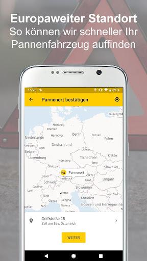 ADAC Pannenhilfe 2.4.3 screenshots 2