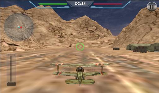 WW1ブレット航空戦闘3D