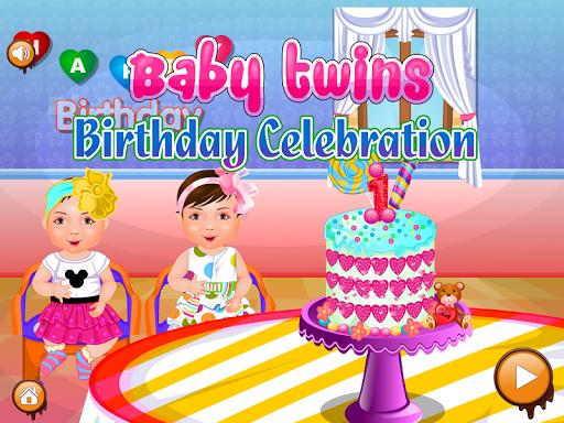 雙胞胎的生日女孩遊戲 休閒 App-愛順發玩APP