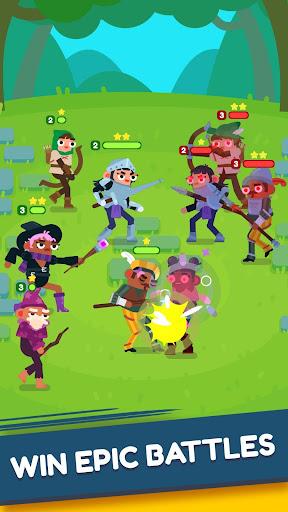 Code Triche Heroes Battle: Auto-battler RPG apk mod screenshots 4