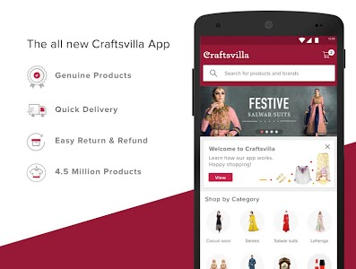 Craftsvilla - Online Shopping screenshot 0
