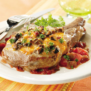 Portobello Pork Chops.