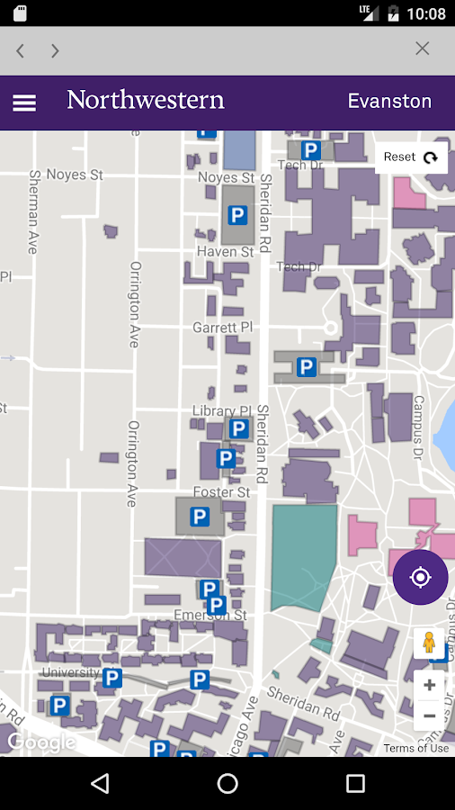 Northwestern University- screenshot