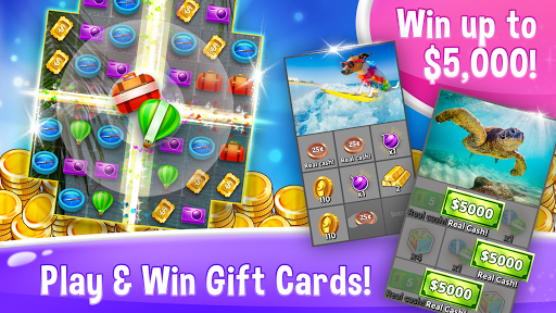 Match To Win - Win Real Gift Cards & Match 3 Game 1.0.0 screenshots 1