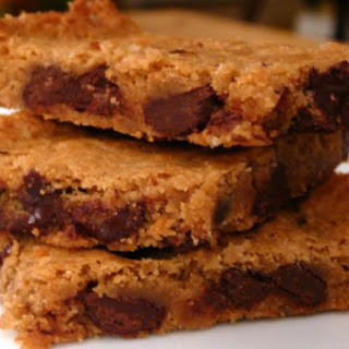 Whole Grain Chewy Blondies