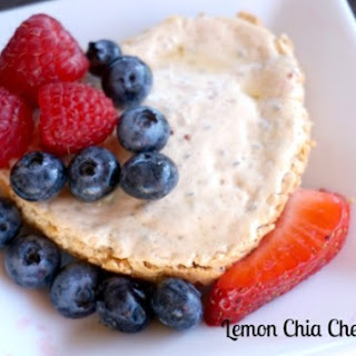 Lemon Chia Cheesecake