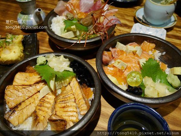 倚樂田食,倚樂屋二店。以丼飯跟握壽司為主,餐點跟一店一樣有水準,環境更為舒適。