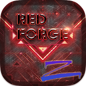 Red Forge Theme -ZERO Launcher