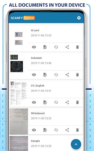 PDF Scanner - Scan documents, photos, ID, passport screenshots 7