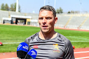 Coach Ivan Van Rooyen of the Lions during the Xerox Golden Lions Mixed Zone at Johannesburg Stadium on August 21, 2018 in Johannesburg, South Africa.