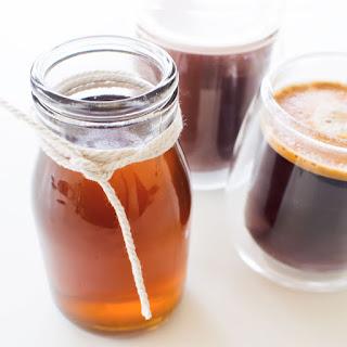 Caramel Coffee Syrup.