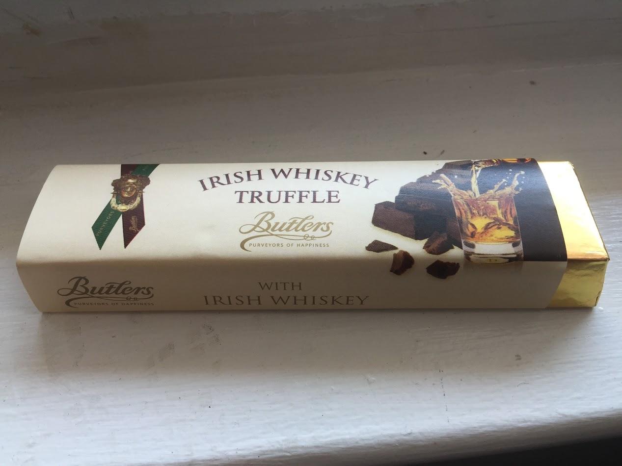 Butlers whiskey truffle bar