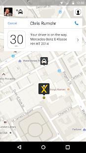 mytaxi – The Taxi App- screenshot thumbnail