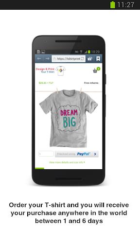 Design & Get Your T-Shirt Apk apps 2