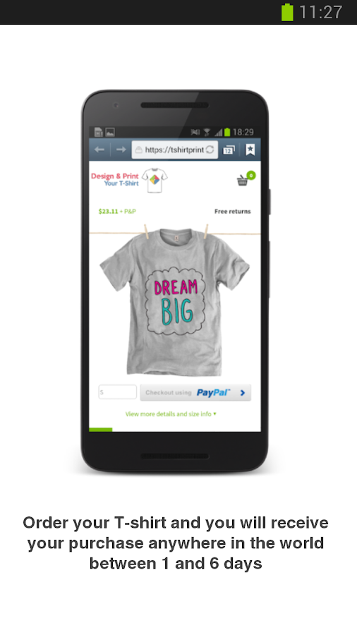 Design & Get Your T-Shirt - Android Apps on Google Play