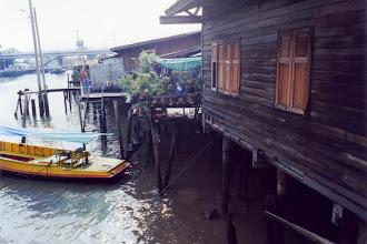 Photo: #022-Promenade en bateau sur les Klongs (canaux)-Bangkok