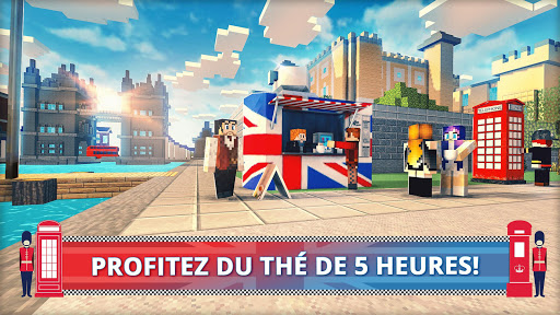 London Craft: Jeux de crafting et de construction  captures d'u00e9cran 2