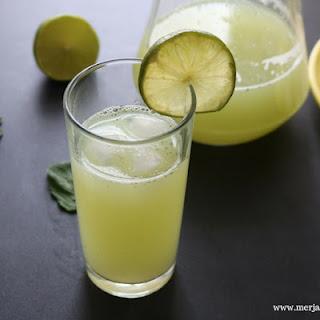 Mint Lime Juice.